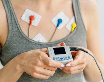 τοποθέτηση holter ρυθμού - έλεγχος καρδιακού ρυθμού (24ωρου και 48ωρου )